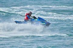 Water Biker Action Stock Images