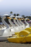 Water bikes on the beach of La Palma Royalty Free Stock Photos