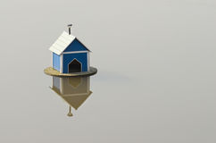 Water birdhouse Stock Image