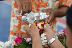 Water blessing Stock Images