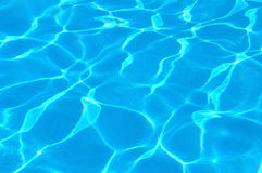 Water blue Royalty Free Stock Photos