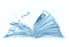 Water book Royalty Free Stock Images