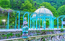 The water of Borjomi resort Stock Photo