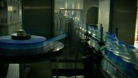 Water_bottle在工厂 股票视频