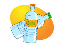 Water bottle Stock Photography