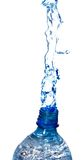 Water from a bottle Royalty Free Stock Image