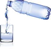 Water bottle. Stock Photo