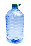 Water bottle. With green lid, 5 liters Stock Photography