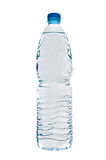 Water bottle. On white isolated stock photo