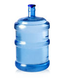 Water bottle. Big plastic bottle for potable water isolated on a white background Royalty Free Stock Image