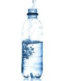 Water in bottle Stock Photo
