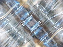 Water bottle abstract Royalty Free Stock Photos