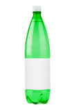 Water bottle with blank label Stock Photography