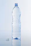 Water Bottle on Blue Royalty Free Stock Image