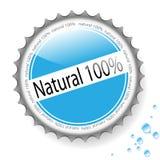 Water, bottle cap Stock Image