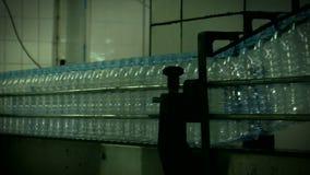Water_bottle en fábrica almacen de video