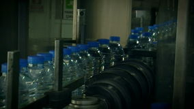 Water_bottle in factory Stock Photo
