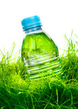 Water bottle on the grass Stock Photos