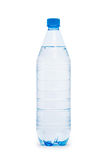 Water bottle isolated on  white Royalty Free Stock Photography