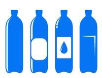 Water bottle set Stock Photo