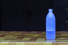 Water Bottle on table Royalty Free Stock Photo