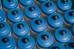 Water Bottle Tops Stock Photo