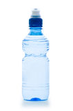 Water bottle on the white Royalty Free Stock Photography