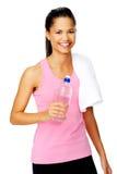 Water bottle woman Stock Photos