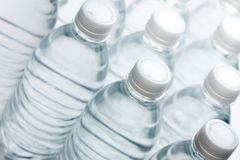 Water Bottles Abstract Royalty Free Stock Images