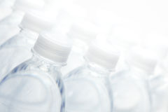 Water Bottles Abstract Royalty Free Stock Photography