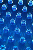 Water bottles in factory Stock Photography