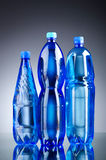 Water bottles - healthy drink concept Royalty Free Stock Photos