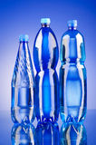 Water bottles - healthy drink concept Royalty Free Stock Images