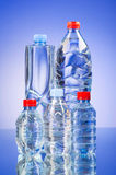 Water bottles - healthy drink concept Royalty Free Stock Photography