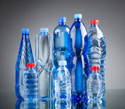 Water bottles - healthy drink concept. Water bottles as healthy drink concept Stock Photography