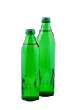 Water in bottles  isolated. Royalty Free Stock Image