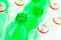 Water bottles isolated Stock Photos