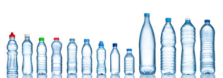 Water bottles Royalty Free Stock Images