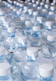 Water bottles in plastic wrap Royalty Free Stock Images