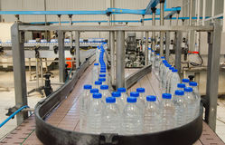 Water bottling plant Royalty Free Stock Photos