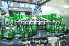 Water bottling plant Royalty Free Stock Image