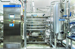 Water bottling plant Royalty Free Stock Photography