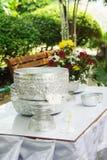Water bowl prepared for Songkran festival Stock Image