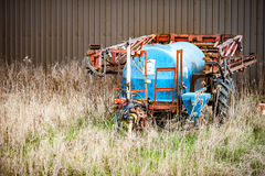 Water bowser parked Royalty Free Stock Photos