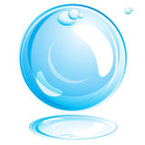Water Bubble. Illustration for your design Stock Images