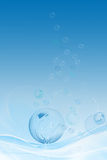 Water bubble Royalty Free Stock Photography