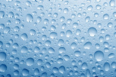 Water bubble on glass Royalty Free Stock Image