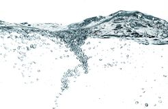 Water bubbles royalty free stock photos