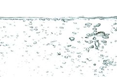 Water bubbles Stock Image