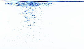 Water bubbles stock photography
